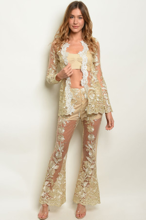 S25-7-1-SET20290 GOLD CARDIGAN & PANTS SET 3-2-2