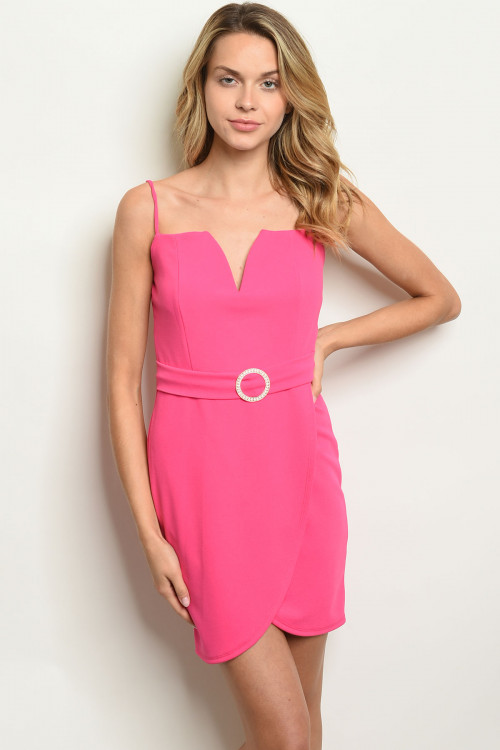C46-A-2-D2033 FUCHSIA DRESS 2-2-2