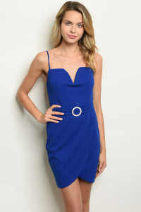 C40-A-6-D2033 ROYAL BLUE DRESS 2-2-2