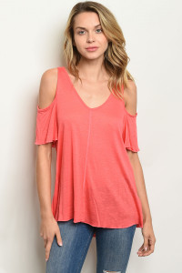 C57-B-7-T10260 CORAL TOP 2-2-2