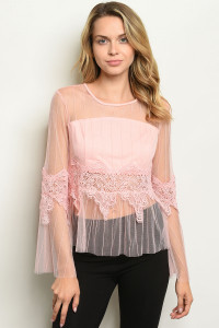 S14-1-2-T88046 PINK TOP 2-2-2