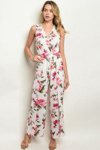 S17-6-5-NA-J19107 OFF WHITE FLORAL JUMPSUIT 1-1-1