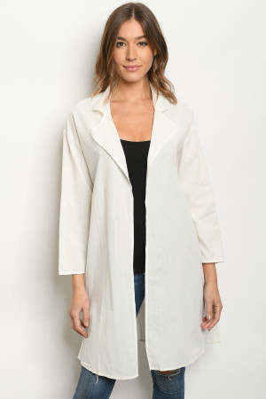 S21-11-4-C19932 OFF WHITE CARDIGAN 2-2-2