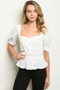 S11-6-3-T30687 OFF WHITE TOP 2-2-2