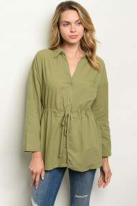 S15-10-3-T14106 OLIVE TOP 2-2-2