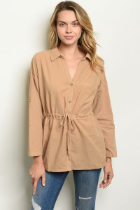 S14-10-1-T14106 TAUPE TOP 2-2-2