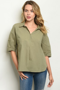 S15-8-6-T14076 OLIVE TOP 2-2-2