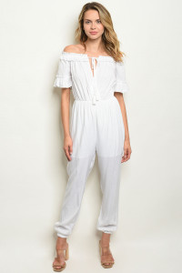 S10-7-3-J1209 WHITE JUMPSUIT 3-2-1