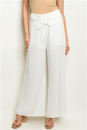 S10-9-3-P2171 OFF WHITE PANTS 3-2-1