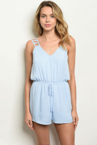 S14-3-2-R1714 LIGHT BLUE ROMPER 1-2-2