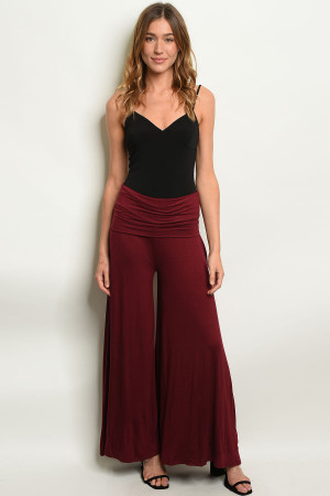S15-11-4-P9010 BURGUNDY PANTS 4PCS