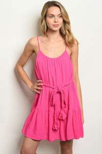 S21-12-1-D12322 FUCHSIA DRESS 3-2-2