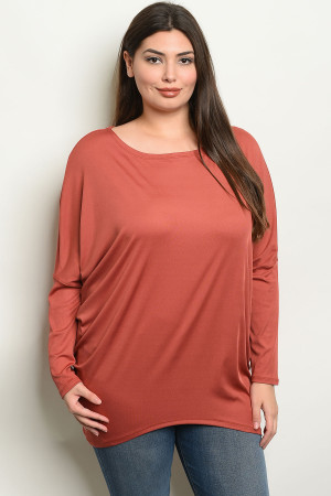6529038317 Quick View this Product S11-10-5-NA-T19090X BRICK PLUS SIZE TOP 2-2