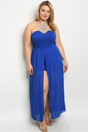 S21-12-1-J34276X ROYAL PLUS SIZE JUMPSUIT 2-2-1