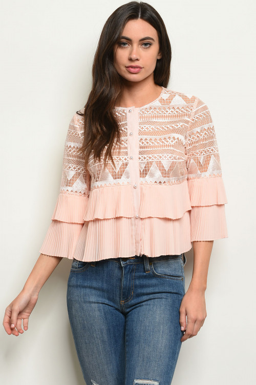 S9-3-1-T22263 BLUSH TOP 2-2-2