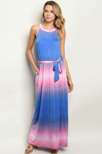 C8-A-4-D3946 ROYAL PINK DRESS 2-2-2