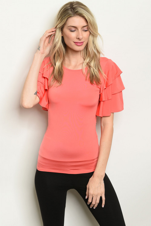 C42-B-3-T14862 CORAL TOP 2-2-2