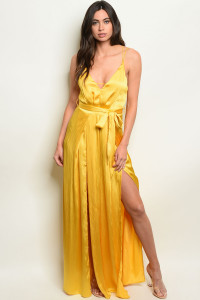 S25-6-3-J5091 YELLOW JUMPSUIT 3-2-1