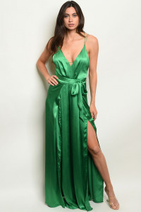 S24-1-5-J5091 GREEN JUMPSUIT 3-2-1