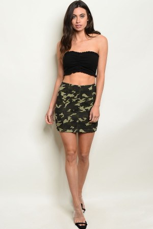 S9-15-3-S32125 ARMY SKIRT 3-2-1