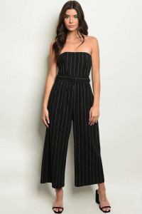 S6-10-1-J10516 BLACK WHITE JUMPSUIT 3-2-1