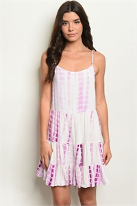 S20-2-5-D20654 PLUM TIE DYE DRESS 2-2-2