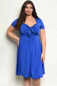 C57-A-4-D13741X ROYAL PLUS SIZE DRESS 2-2-2