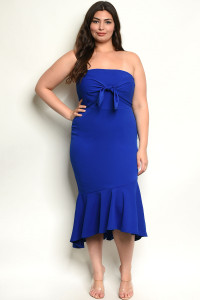 S11-1-3-D392X ROYAL PLUS SIZE DRESS 2-2-2