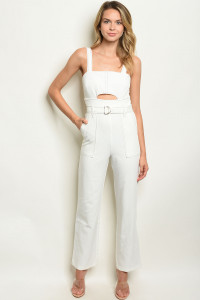 S10-18-3-J5438 WHITE JUMPSUIT 2-2-2