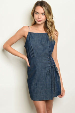 S9-16-5-D953 DARK DENIM DRESS 2-2-2