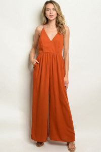S10-8-4-J978 BRICK JUMPSUIT 2-2-2
