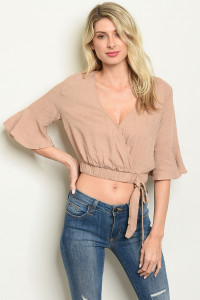S19-12-2-T13744 TAUPE TOP 3-2-1