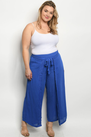 SA3-0-4-P9914X ROYAL PLUS SIZE PANTS 2-2-2