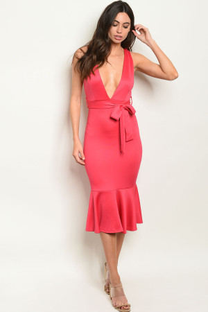 S9-7-2-D1109 FUCHSIA DRESS 2-2-2