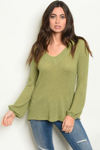 C81-A-1-T51290 OLIVE TOP 2-2