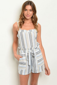 S17-2-3-R1979 MULTI STRIPES ROMPER 2-2-2