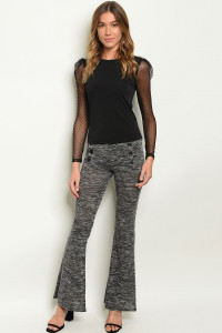 C10-A-6-P8679 CHARCOAL PANTS 2-2-2  ***WARNING: California Proposition 65***