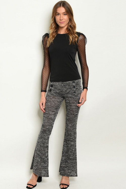 C18-A-1-P8679 CHARCOAL PANTS 3-2-2  ***WARNING: California Proposition 65***