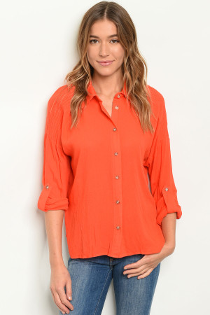S21-2-5-T26012 CORAL TOP 2-2-2