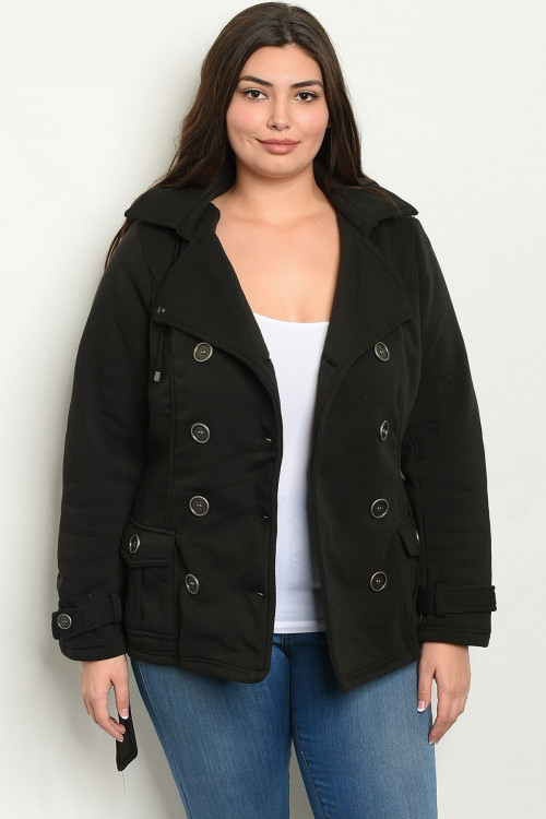 C12-A-1-J63030X BLACK PLUS SIZE JACKET 3-2