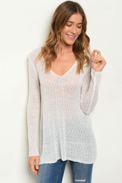 S9-11-1-T3383 WHITE SWEATER 2-2-2