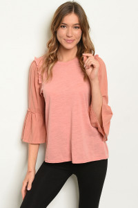 S17-8-4-T24451 BLUSH TOP 1-1-1