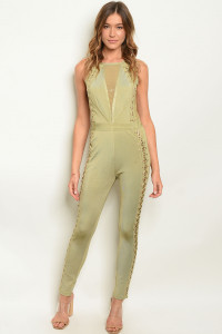 S2-10-2-J5229 OLIVE JUMPSUIT 2-2-1 ***WARNING: California Proposition 65***