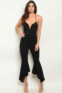 C14-A-2-J5901 BLACK JUMPSUIT 2-2-2