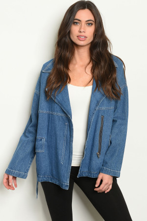 S4-9-2-J10471 DENIM BLUE JACKET 2-2-2