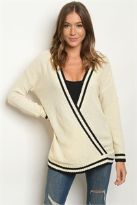S23-1-1-S1163 CREAM BLACK SWEATER 3-3