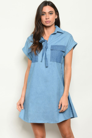 S20-11-4-D7942 LIGHT BLUE DRESS 2-2-2