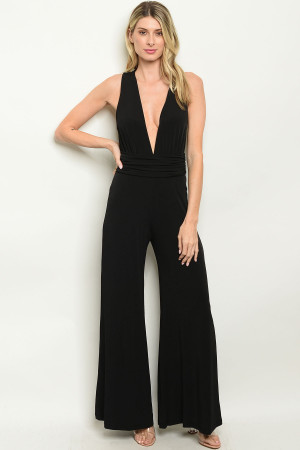 C87-A-1-J6198 BLACK JUMPSUIT 2-2