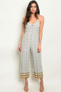 S15-2-5-J6300 OFF WHITE FLORAL JUMPSUIT 2-2-2