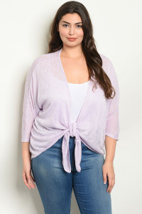 C84-A-4-T5659X LAVENDER PLUS SIZE TOP 1-2-2-1